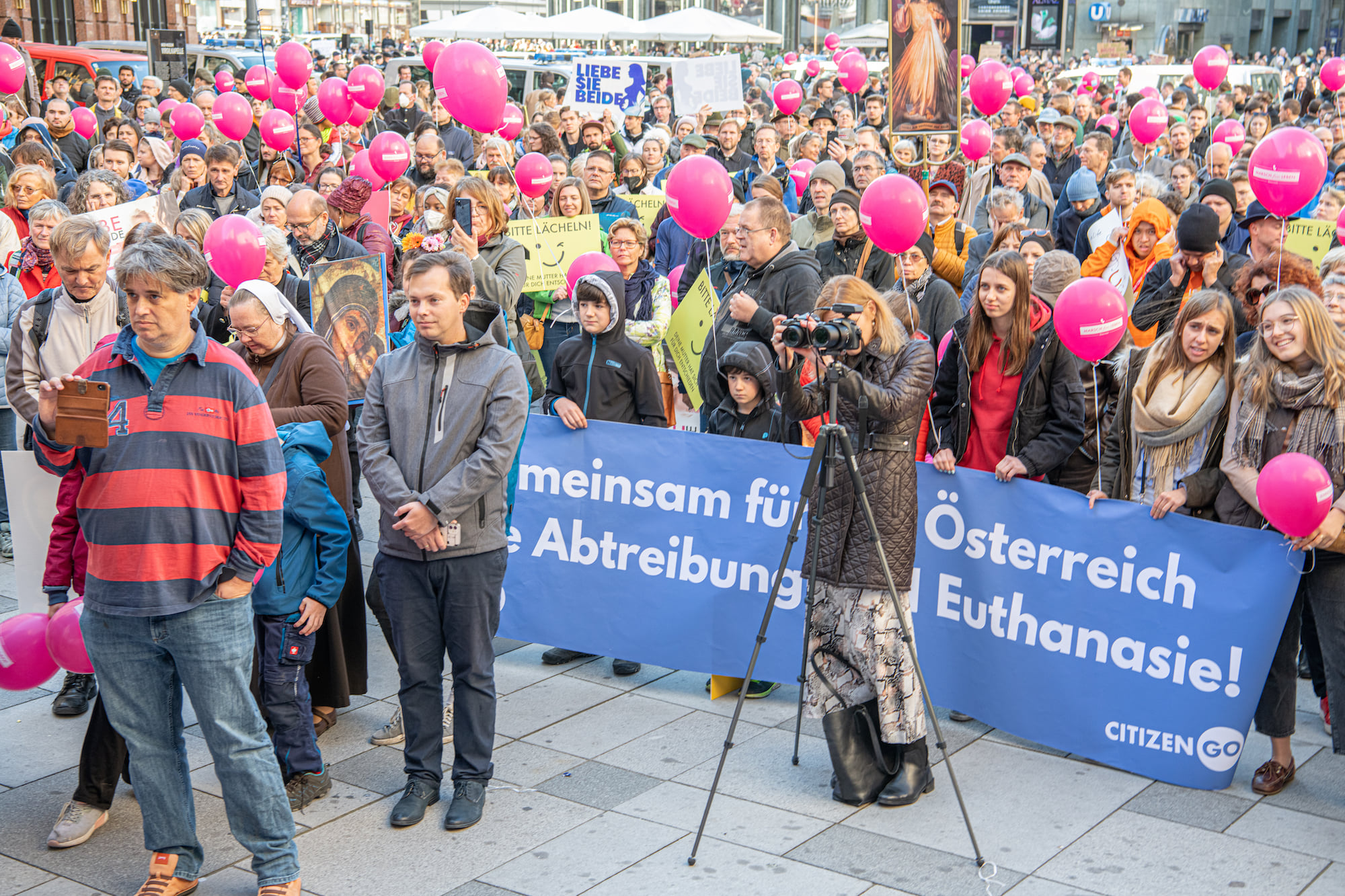 Marșul pentru viață de la Viena 2021: Nu ne putem juca de-a Dumnezeu