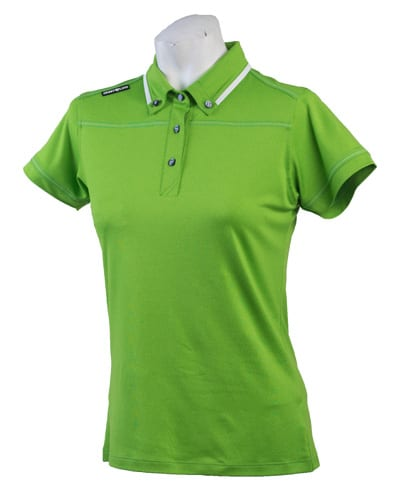 Ladies Polo 80515 Green/White