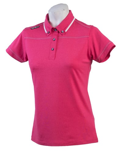 Ladies Polo 80515 Pink/White