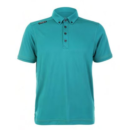 Mens Polo 80380717 Turquoise Green