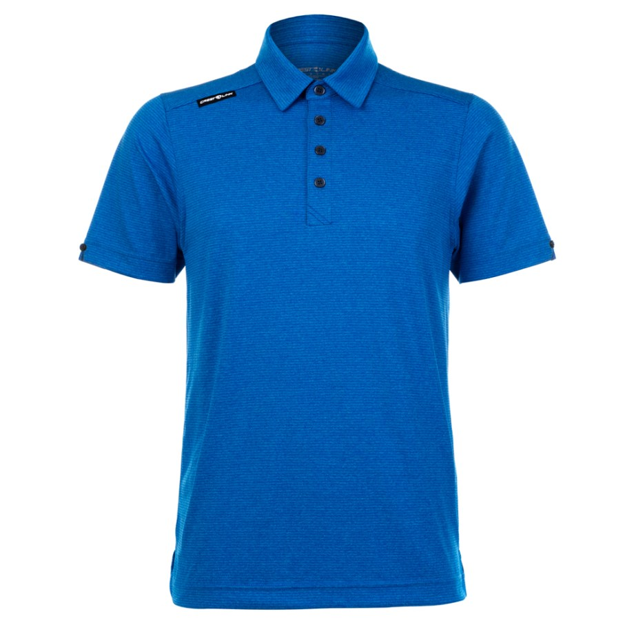 Mens Polo 80380766 Ocean Blue