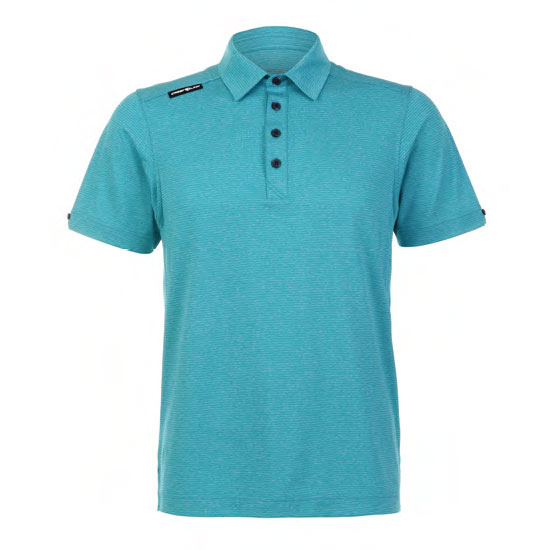 Mens Polo 80380766 Aquamarine