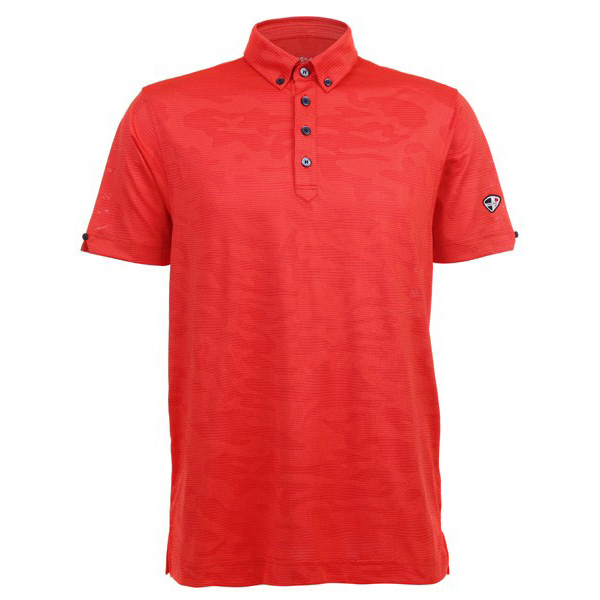 EAO Mens Polo 80380688-CORAL-RED