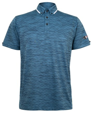 Mens Polo 80381001 in Peacock Blue