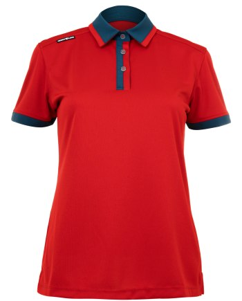 Ladies Polo 60380936 - Sport Red