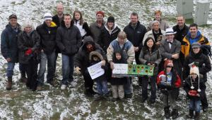 Crestmont Community Clean-up Volunteers