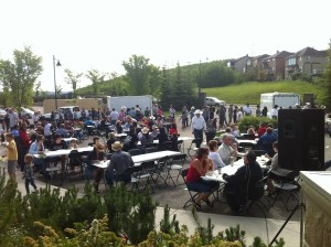 2011 Qualico Stampede Breakfast in Crestmont
