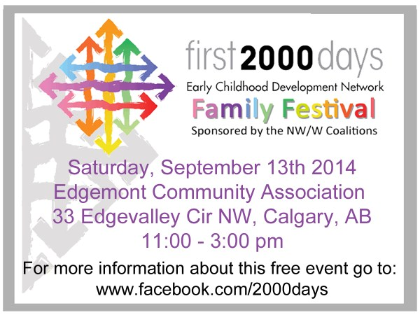 first 2000 days Family Festival