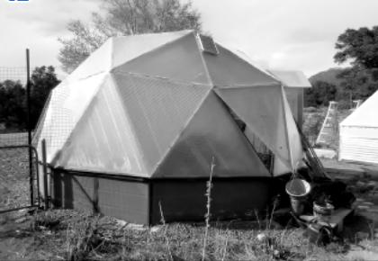 Garden Guru: Pamela's 'Growing Spaces' dome