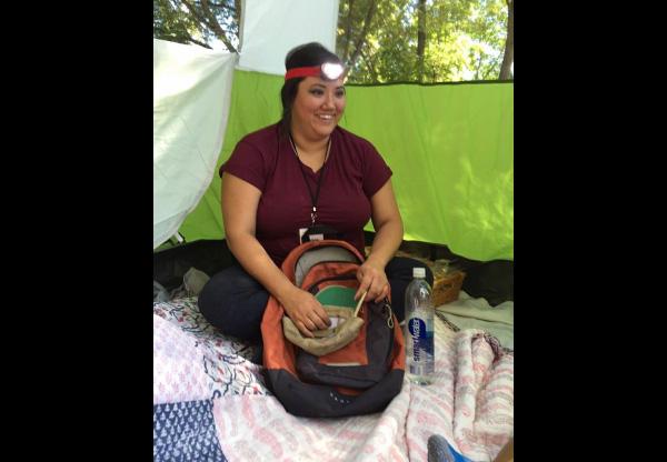 Children's Worship director, Jacki Lamaire, during camp Crestview.