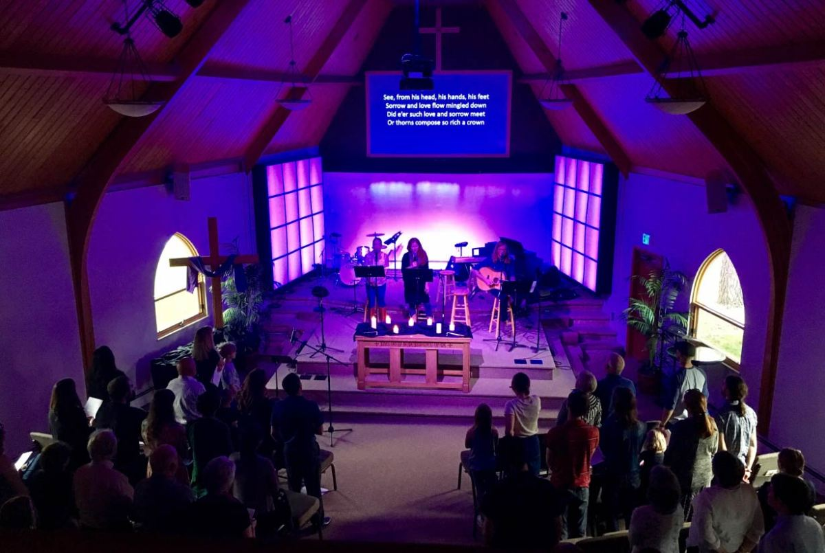 Photo of the Good Friday, 2017 service.