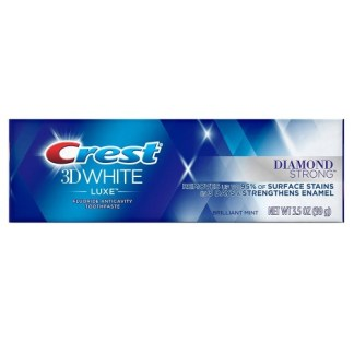 Crest 3D White Luxe Diamond Strong Brilliant Mint Toothpaste