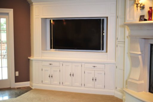 Inset Entertainment Center