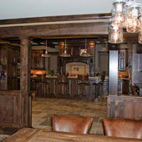 Rustic Bar Seating