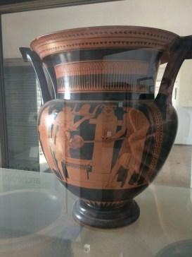 Vaso antico di Cuma Napoli