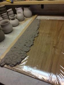 Fare una piastra di argilla