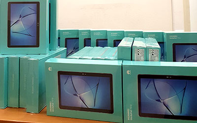 Tablets Σφακιανών σχολείων