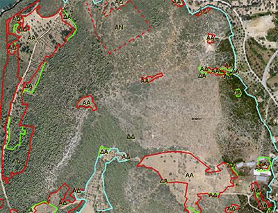 Ημερομηνίες ανάρτησης δασικών χαρτών