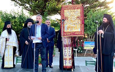 Στην Κρήτη το Λάβαρο της Αγίας Λαύρας