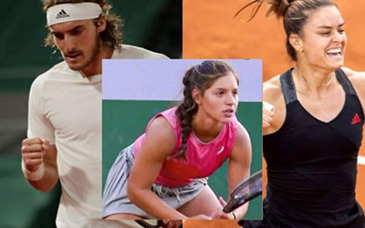 Ελληνικό χρώμα Roland Garros
