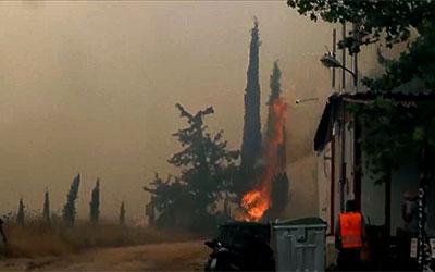 Καίγεται η Ελλάδα