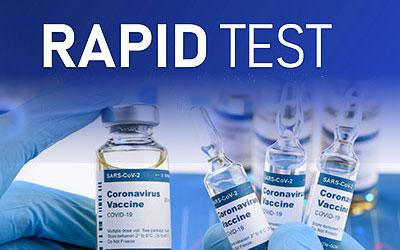 Δωρεάν rapid test 16-9-2021 εμβολιασμένων