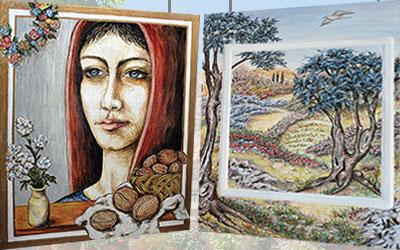 Έκθεση ζωγραφικής Μαρίας Πιτσικάκη