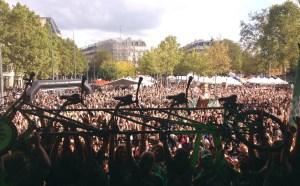Quadruplette Tour Alternatiba Arrivée à Paris