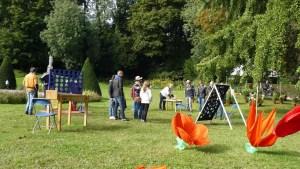 Des jeux lors de la Fête des Jardins