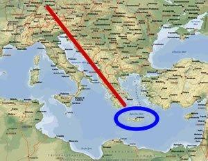 path to Crete
