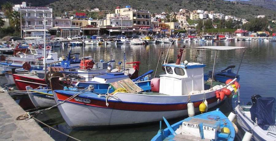 Harbor of Elounda