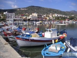 Elounda port