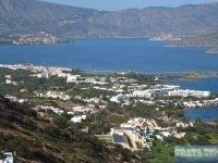 Panoramic view of Elounda