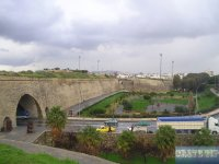 mighty city walls with the 'Jesus gate'