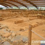 Covered excavation area