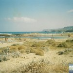 Tropical Beach of Malia
