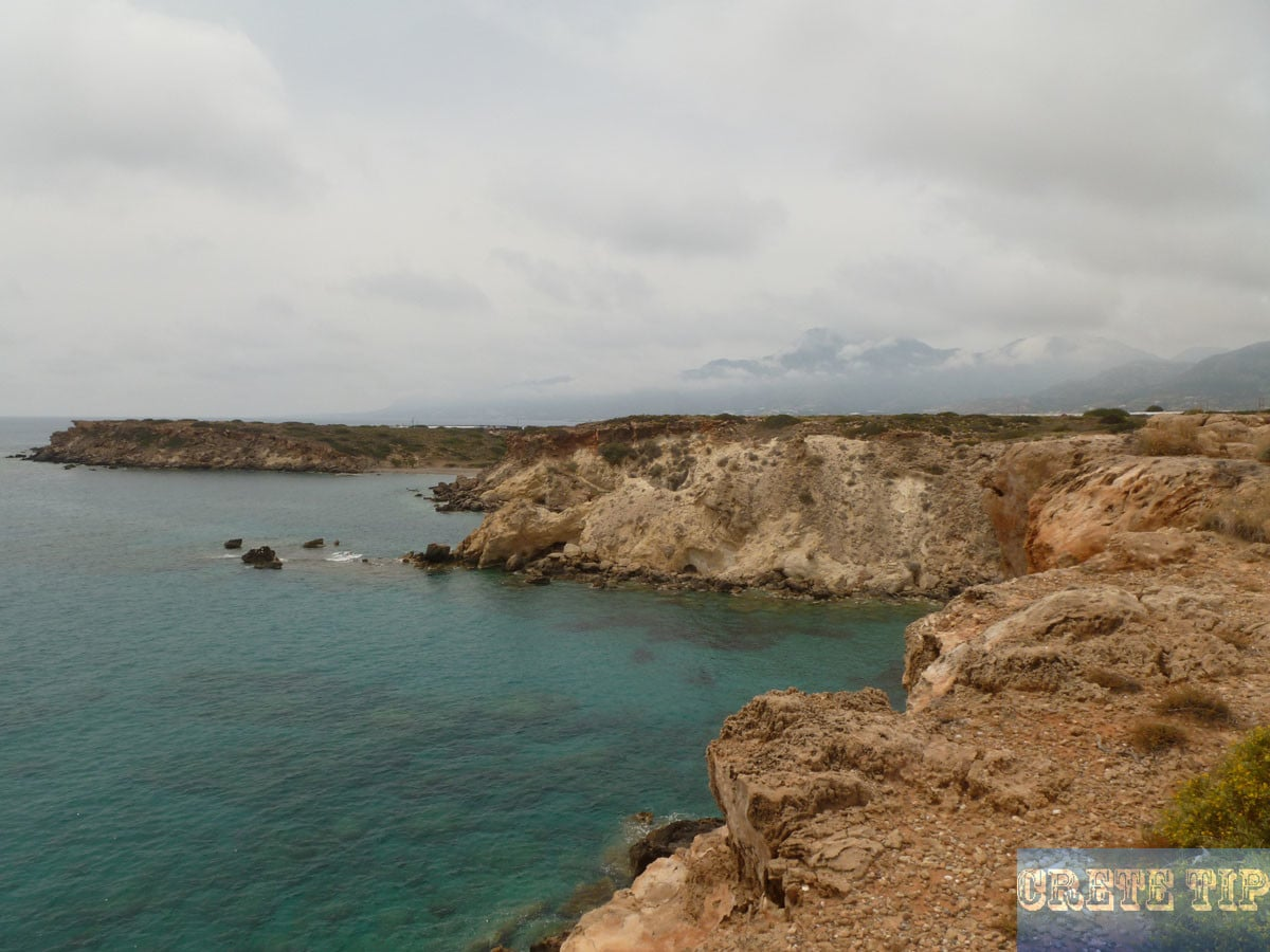 Coastline and beaches east of Ierapetra