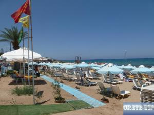 main beach of Stalis
