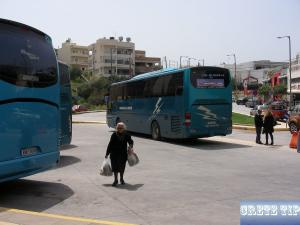 bus station of Aghios Nikolaos