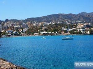 city beach of Agios Nikolaos
