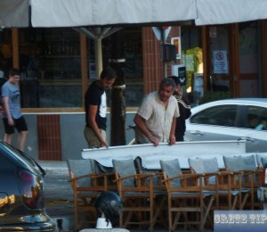 Preparations for the reopening of cafes, restaurants