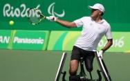 Stéphane Houdet en tennis fauteuil