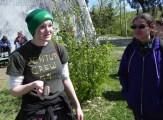 03 Sarah doing camoflauge