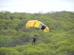 10 Parachute team drop 2