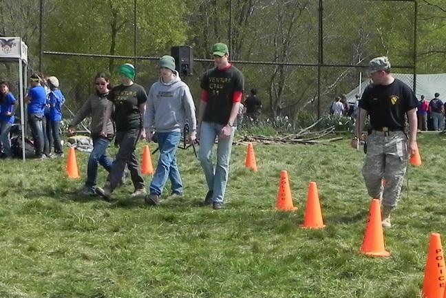 14 drill competition run