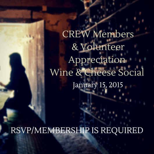 wine & cheese flyer