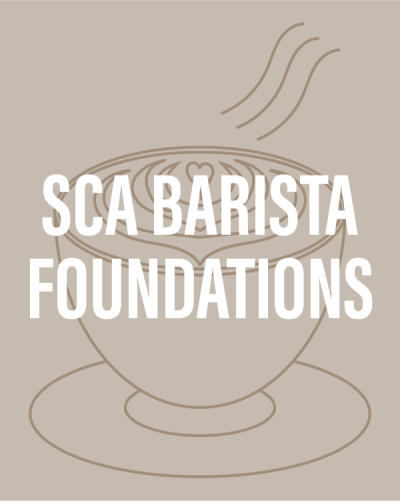 Learn basic barista skills at The Coffee Roasting Institute - SCA Barista Foundations course!