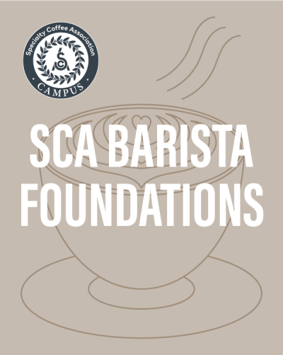 SCA Barista Foundations | The Coffee Roasting Institute