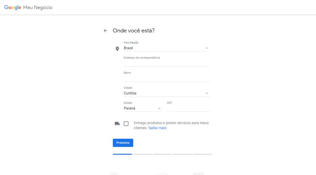 Como cadastrar minha empresa no Google meu negócio? 4