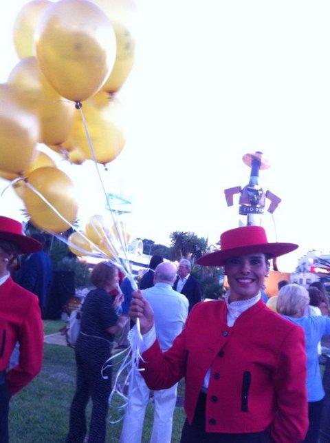 tio pepe balloons